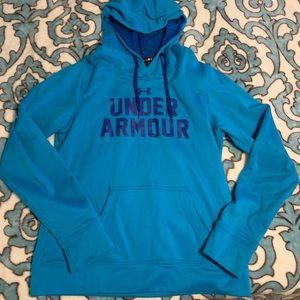 Under Armor Blue Hoodie / Jacket